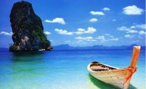 The seaside landscape of Phuket island