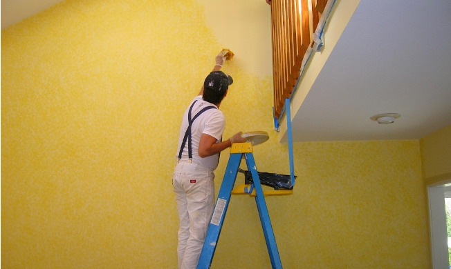 Home paint job