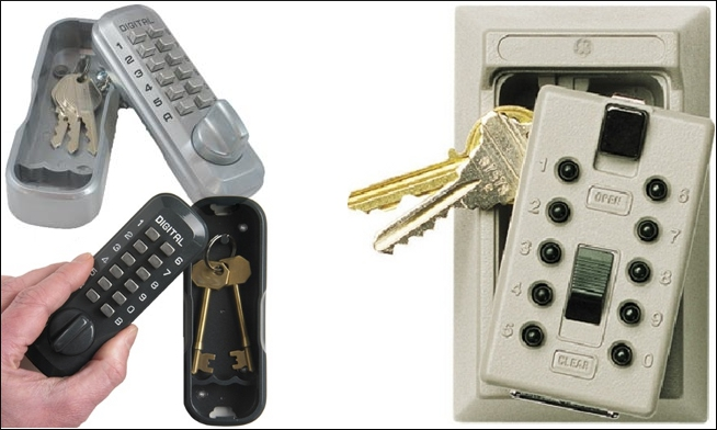 Key boxes key safes