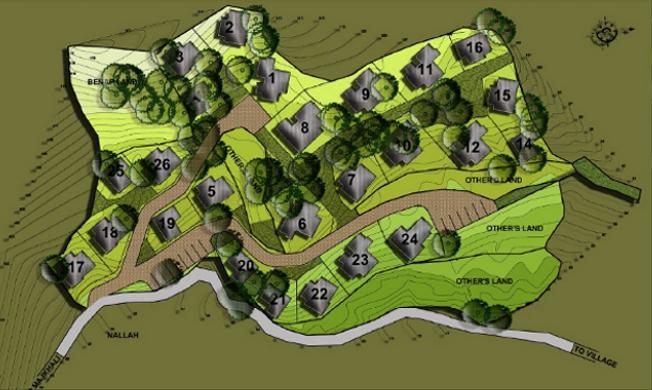 Siteplan of Vimoksha Valley-II