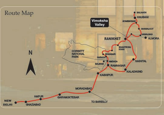 Location map of Vimoksha Valley-II