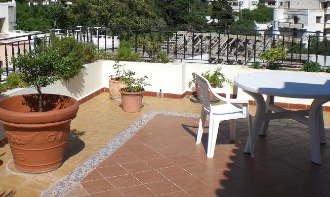 Terrace decoration
