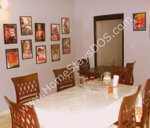 Bollywood Dining Room