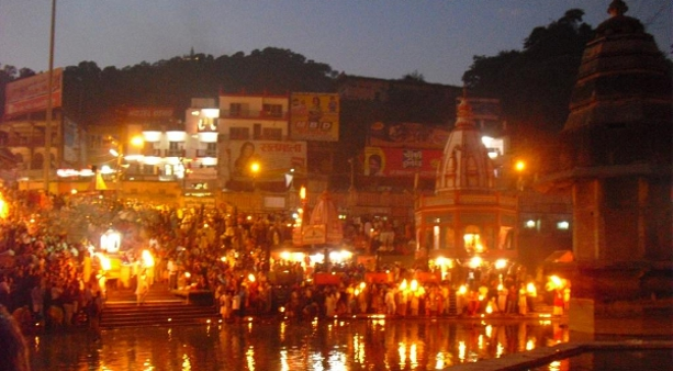 Evening Aarti at Har Ki Pauri, Haridwar