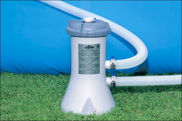 Swimming pool catridge filtration system
