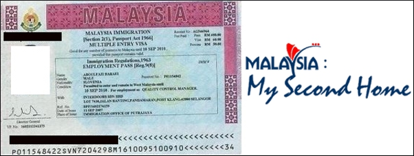 Malaysia resident visa