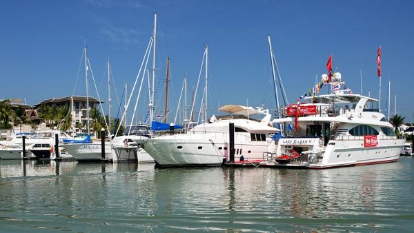 Royal Phuket Marina yacht berth
