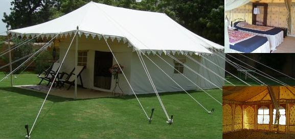 Cotton fabric tents to add value to your property