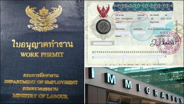 Thailand work permit
