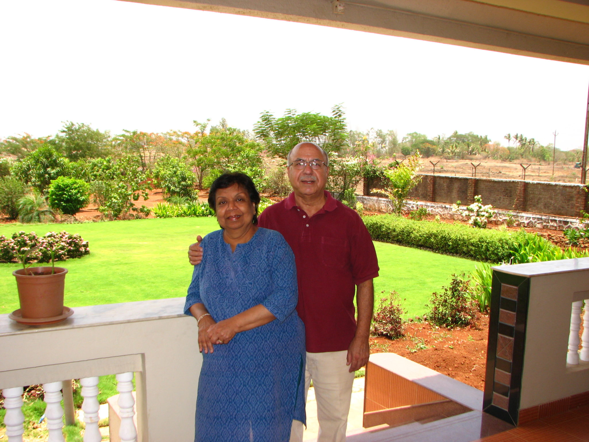 Dr Om and Chandra Kaul's home away from home in Karjat