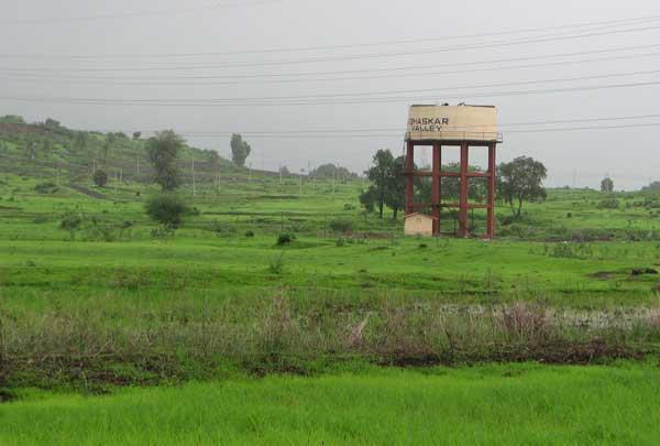 Bhaskar valley from Ambivali village