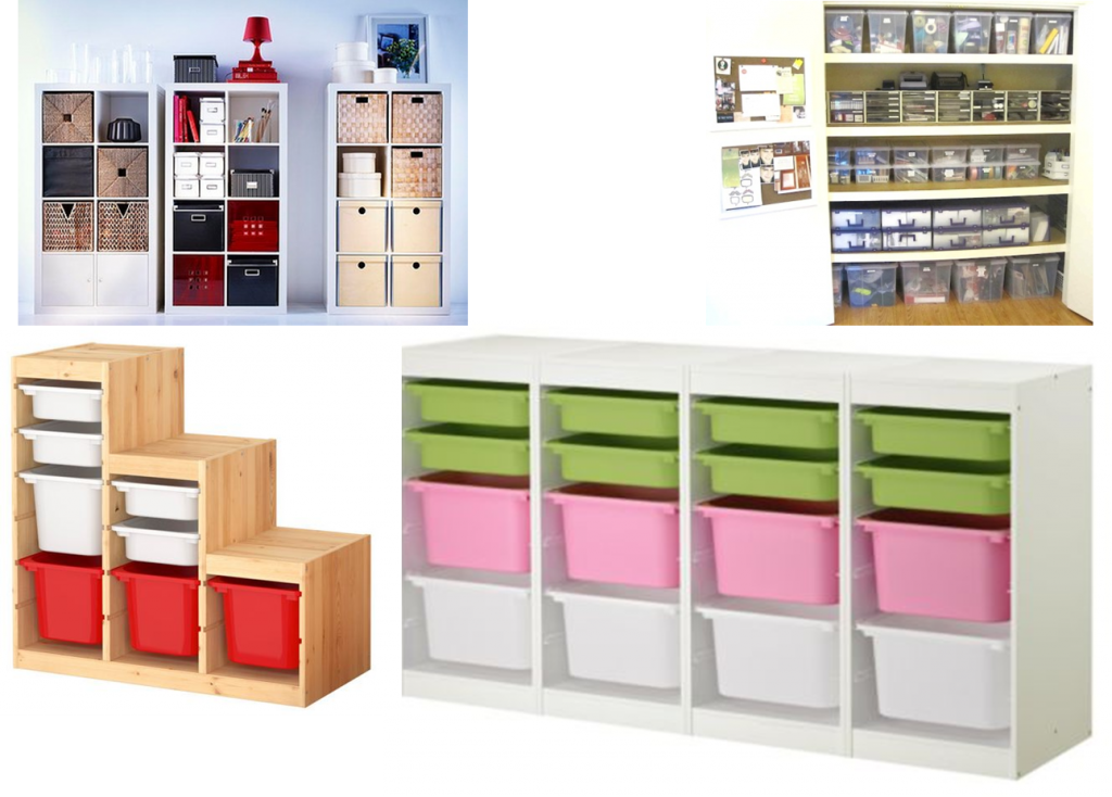 Storage units for consumables