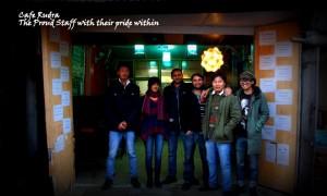 Cafe Rudra Kasauli team