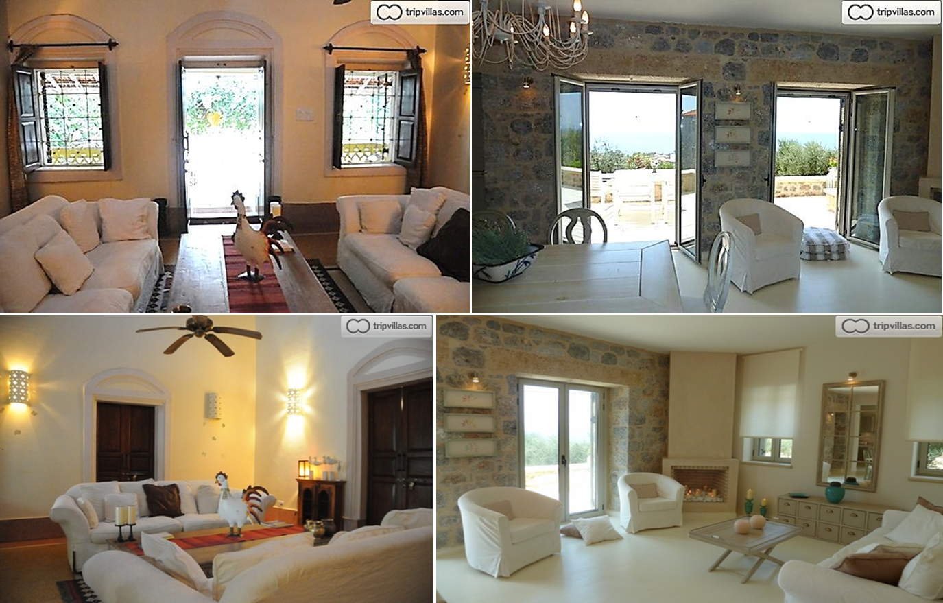styles of interiors - mediterranean - holiday home times