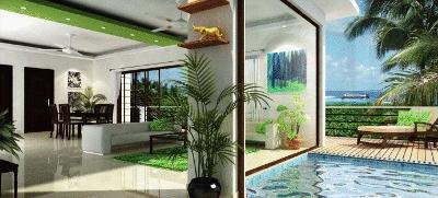Aqua Terraza Goa interiors