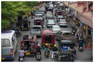 Chiang Mai traffic