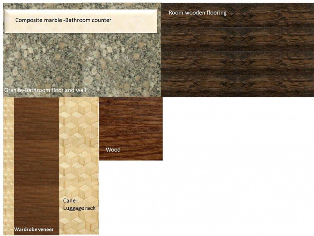 Material Samples: Hard Finishes