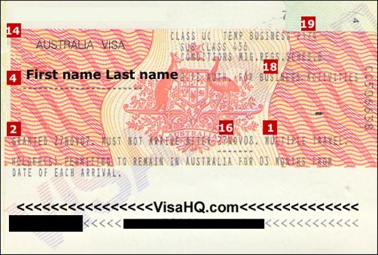 Australia business visa