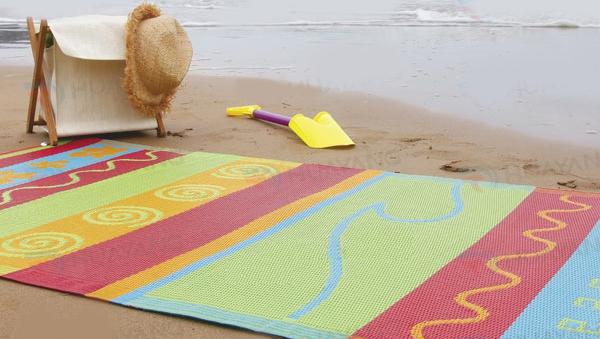 Beach outdoor mat