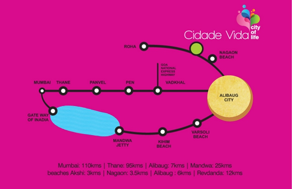 Cidade Vida location map