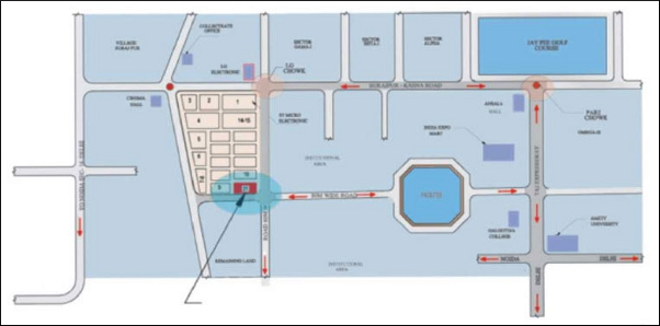 Era Residency Square location map