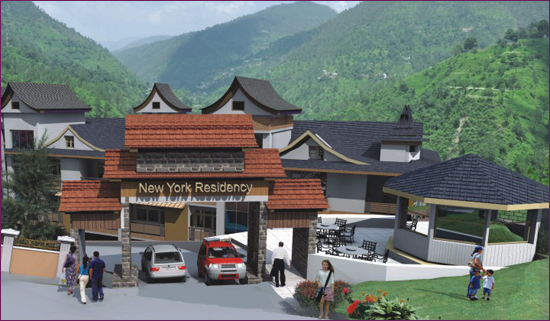 Prithvi Infra Developers' New York Residency near Shimla