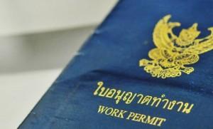 Thailand employment work permit