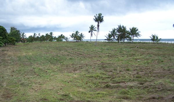 Oceanfront land for sale