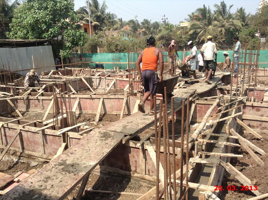 Sai Residency construction status
