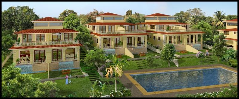 Acron Watervista Villas Aldona Goa 3