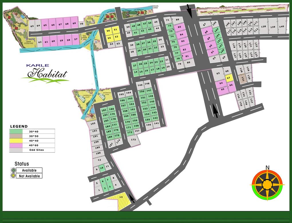 Karle Habitat Mysore master plan