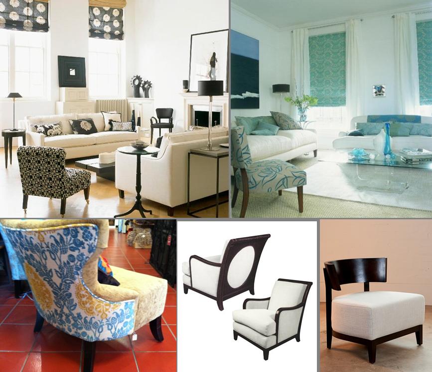 Contemporary room treatments