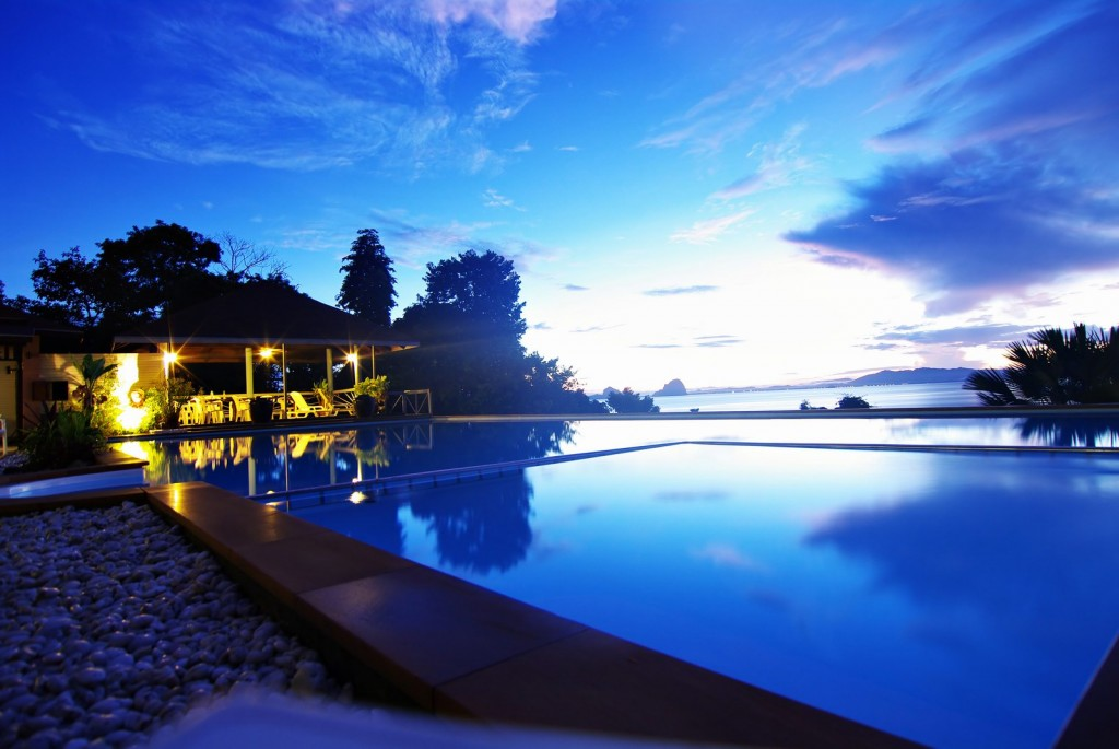 A beachfront resort in one of Trang's beautiful beaches