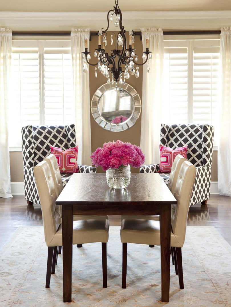 brown-white-pink-traditional-dining-room