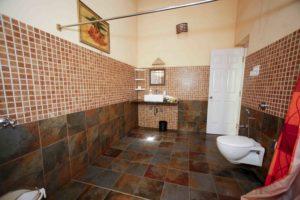 Orange room attached bath